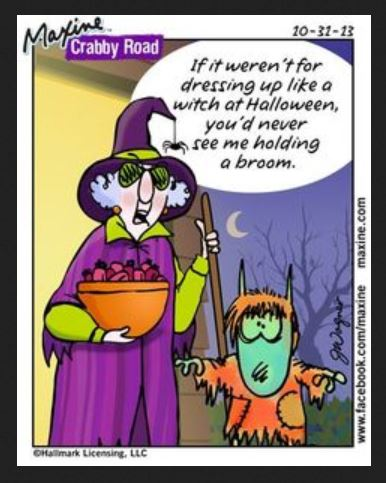 Image result for maxine Halloween pics